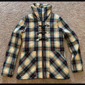 VOLCOM Women's Plaid Flannel Jacket Medium